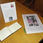Spetsknypplerskan Rosa Lidberg har knypplingsutställning