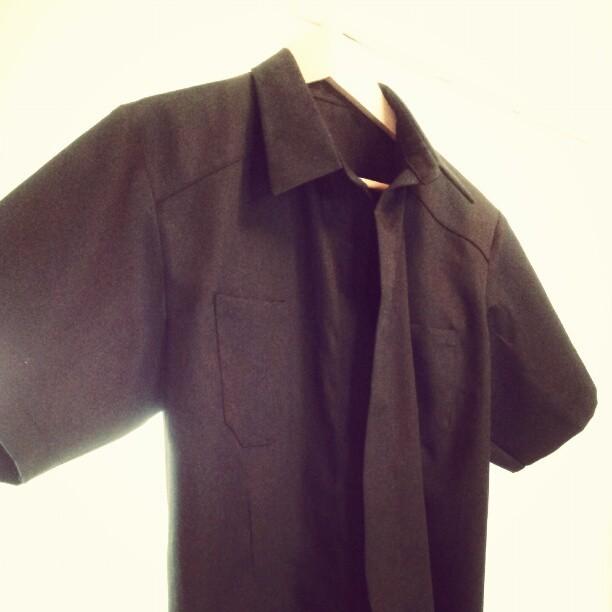 Svart herrskjorta utan knappar - SY! - elsbth 9c87e9e170029