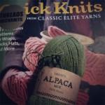 Stickar mönster från Quick knits