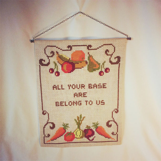 All your base are belong to us-bonad