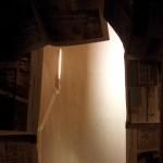Nymålade väggar i syrummet