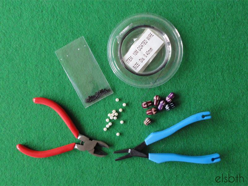 Stickmarkörer: Material och verktyg