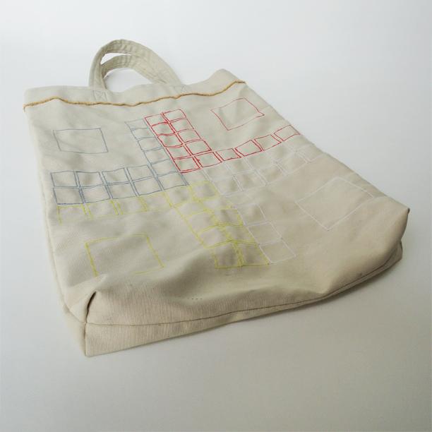 Fia med knuff-väska